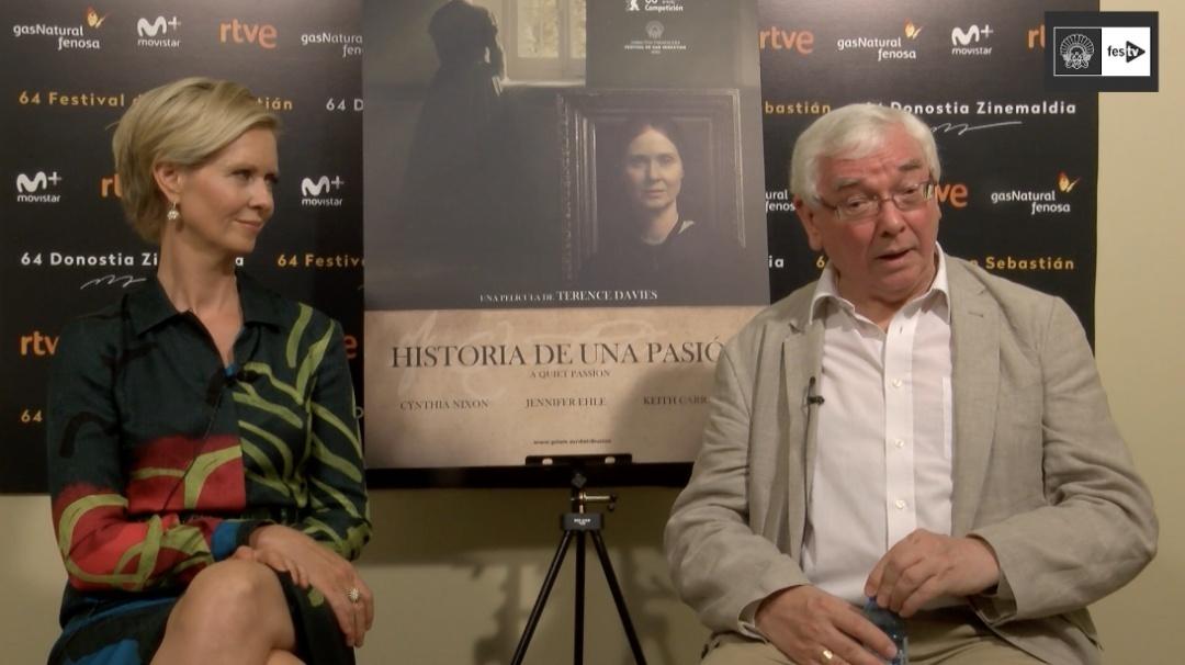 Entrevista a Terence Davies y Cynthia Nixon (A Quiet Passion) - 2016