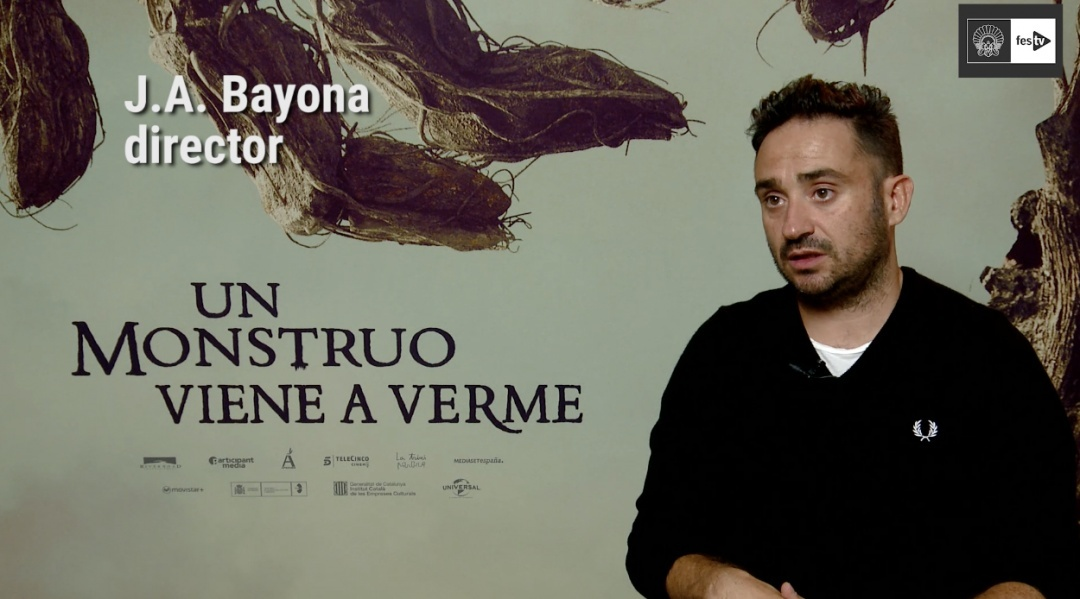 Interview with J.A. Bayona (A Monster Calls) - 2016