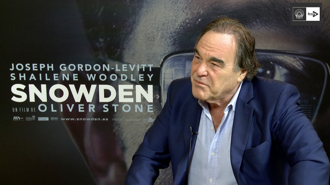 Interview with Oliver Stone ''Snowden''