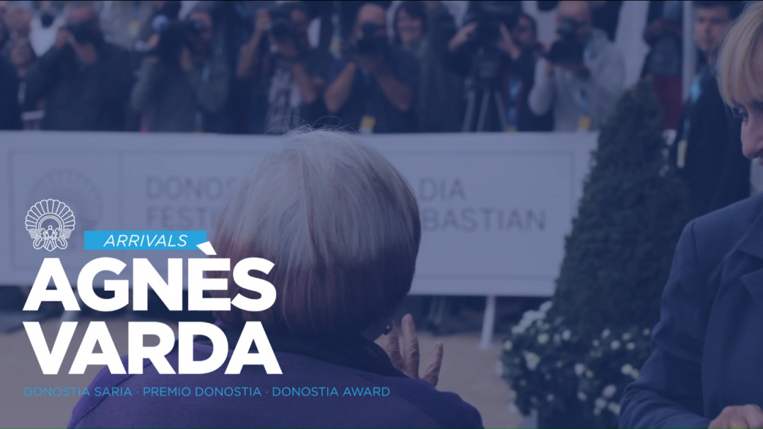 Agnès Vardaren iristea. Donostia Saria