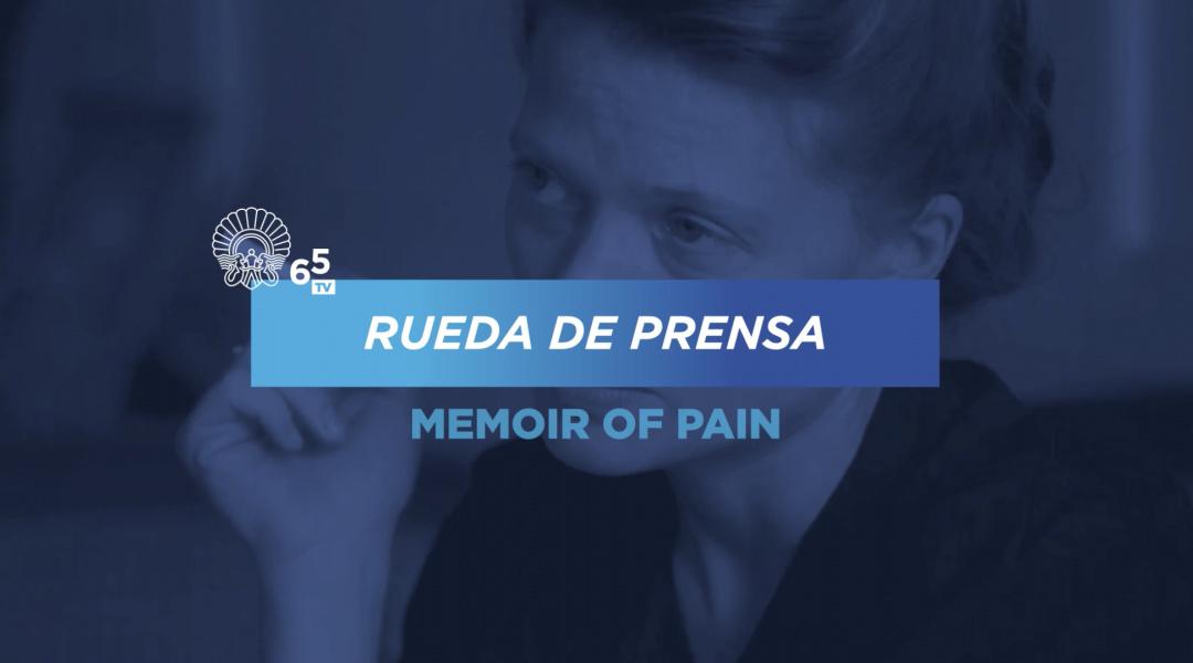 Rueda de prensa ''La Douleur / Memoir of Pain'' (S.O.)