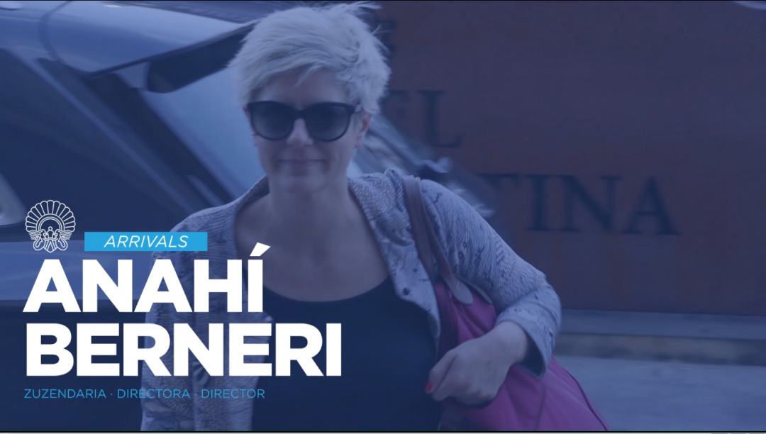 Arrival of Anahi Berneri ''Alanis'' (O.S.)
