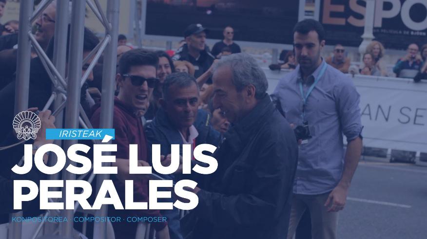 Arrival of Jose Luis Perales ''El Autor'' (O.S.)