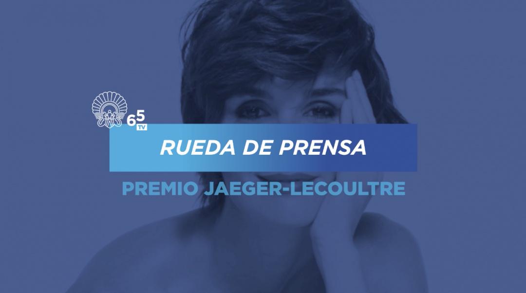 Rueda de prensa Premio Jaeger-LeCoultre al Cine Latino Paz Vega
