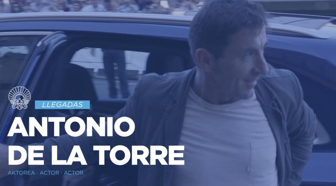 Arrival of Antonio de la Torre ''El autor'' (O.S.)