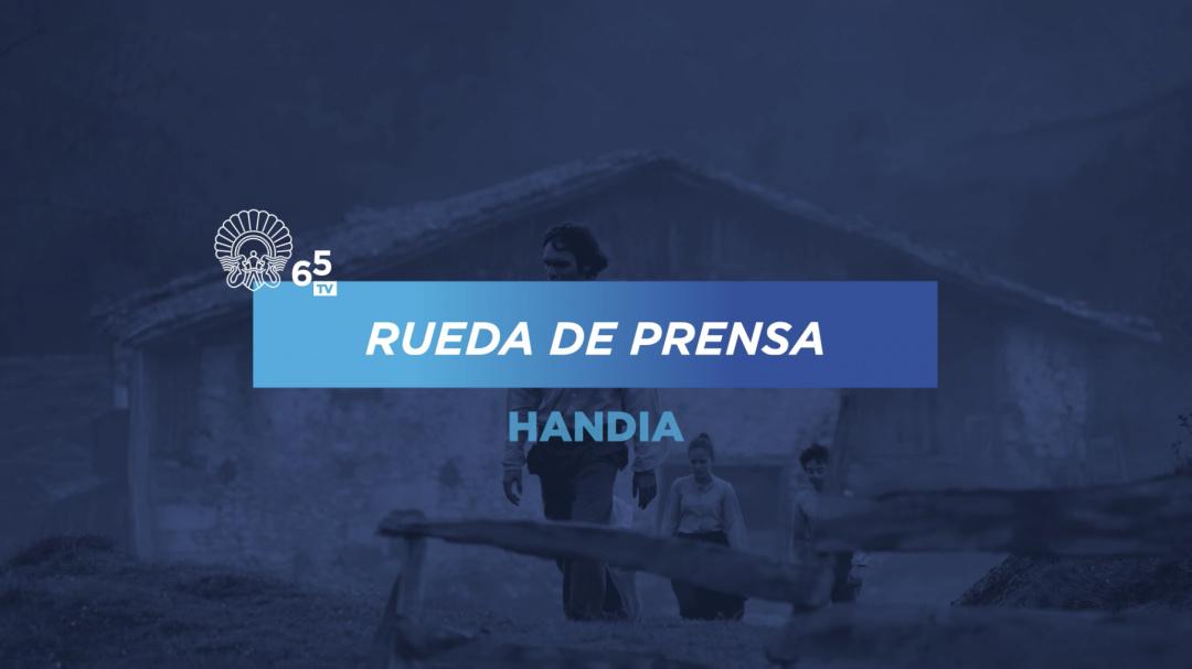 Press Conference ''Handia'' (O.S.)