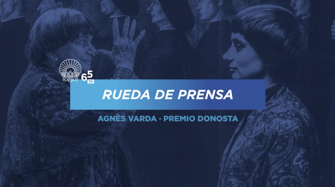 Rueda de prensa ''Premio Donostia Agnès Varda''