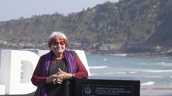 Photocall Agnès Varda ''Donostia saria''