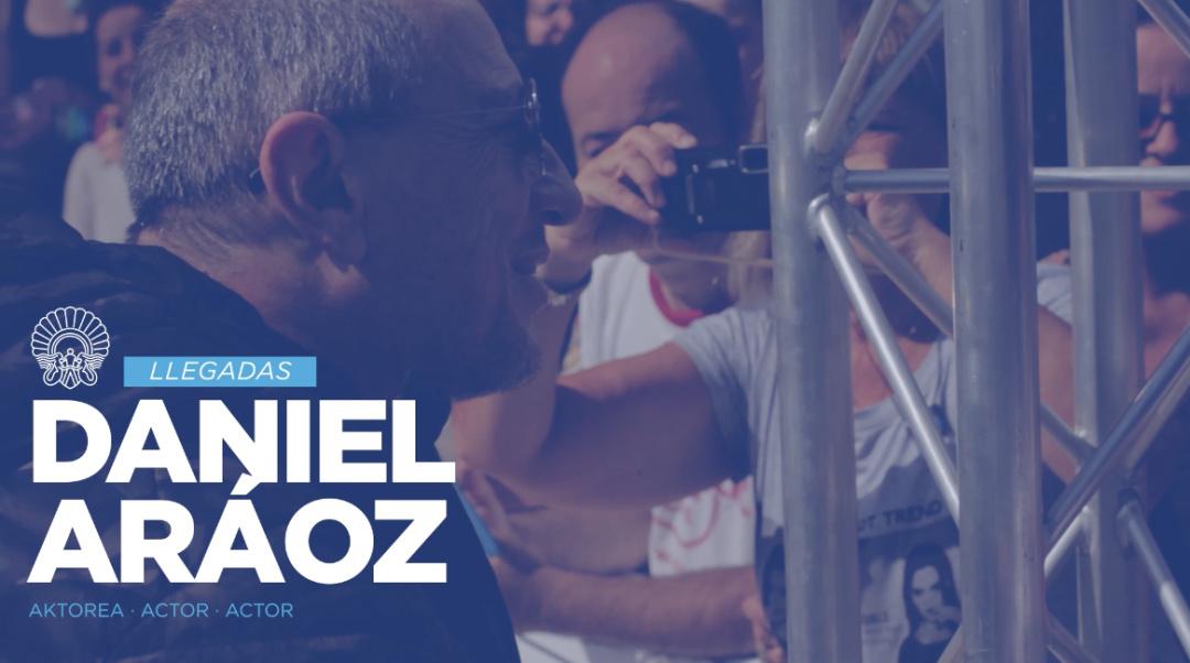 Arrival of Daniel Aráoz ''Una Especie de Familia'' (O.S.)