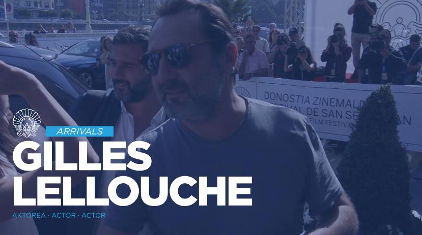 Llegada de Gilles Lellouche ''Le Sens de la Fête / C'est La Vie!'' (S.O.)
