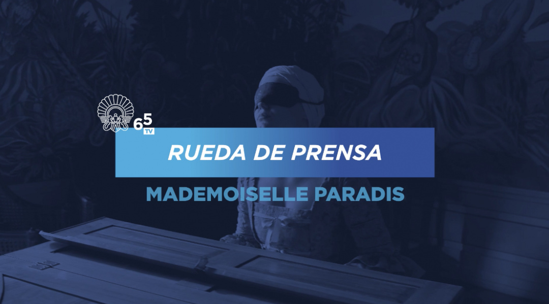 Press conference ''Licht/ Mademoiselle paradis'' (O.S.)