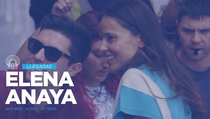 Llegada de Elena Anaya ''La Cordillera'' (PE)