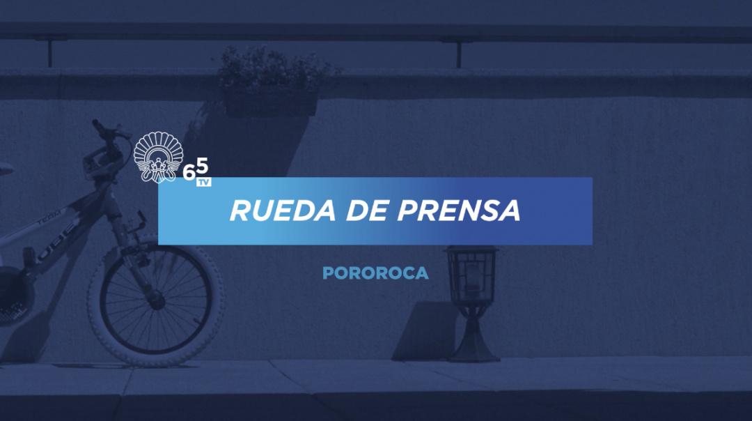 Rueda de prensa ''Pororoca'' (S.O.)