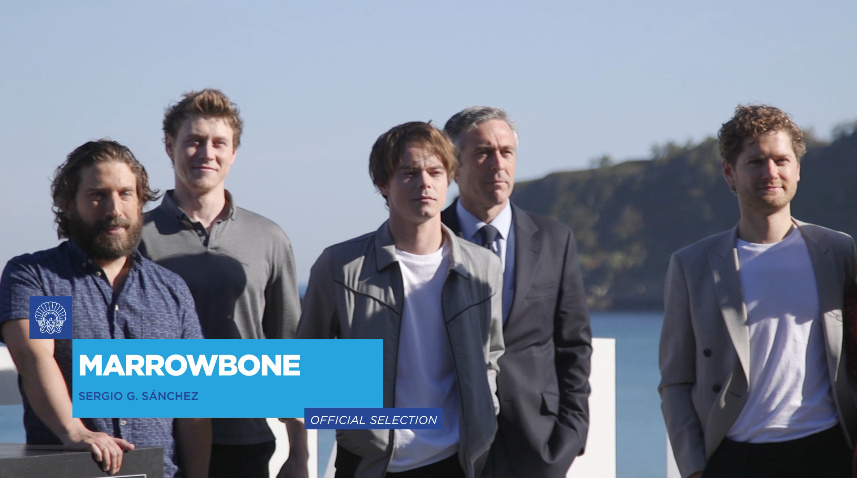Photocall ''Marrowbone'' (O.S.)