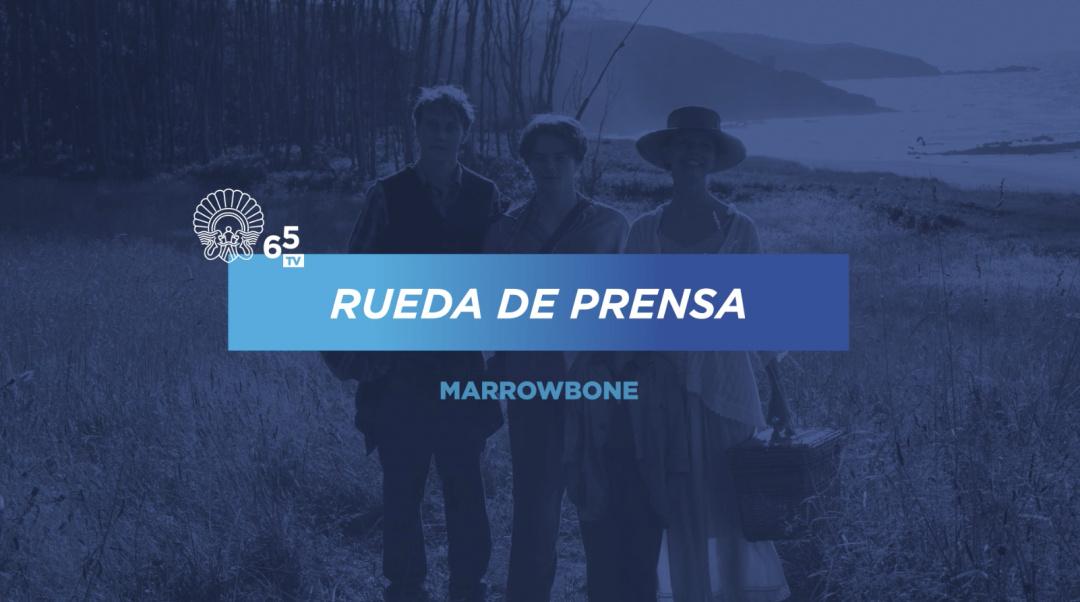 Rueda de Prensa ''Marrowbone'' (S.O.)