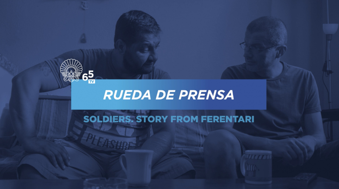 Press conference ''Soldatii. Poveste din Ferentari / Soldiers. Story from Ferentari'' (O.S.)