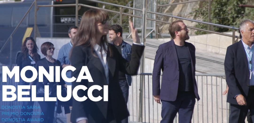 Photocall Monica Bellucci ''Premio Donostia''