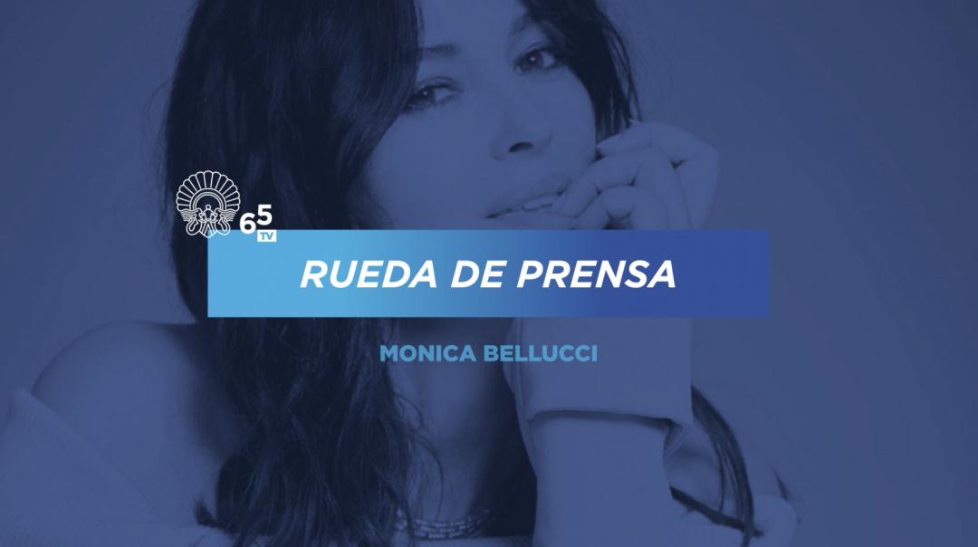 Rueda de Prensa ''Premio Donostia Monica Bellucci''