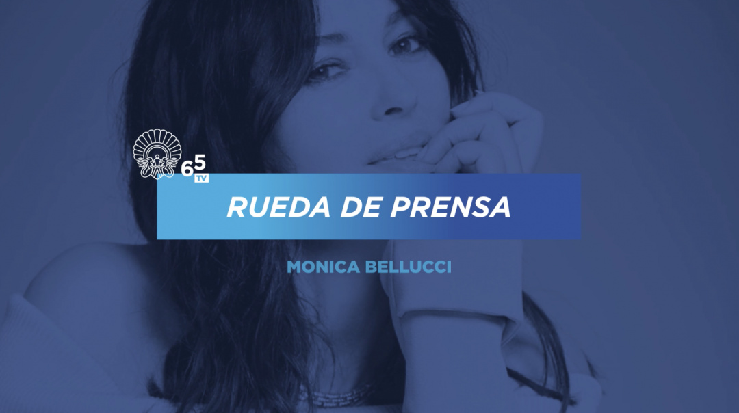 Prentsaurrekoa ''Donostia saria Monica Bellucci''