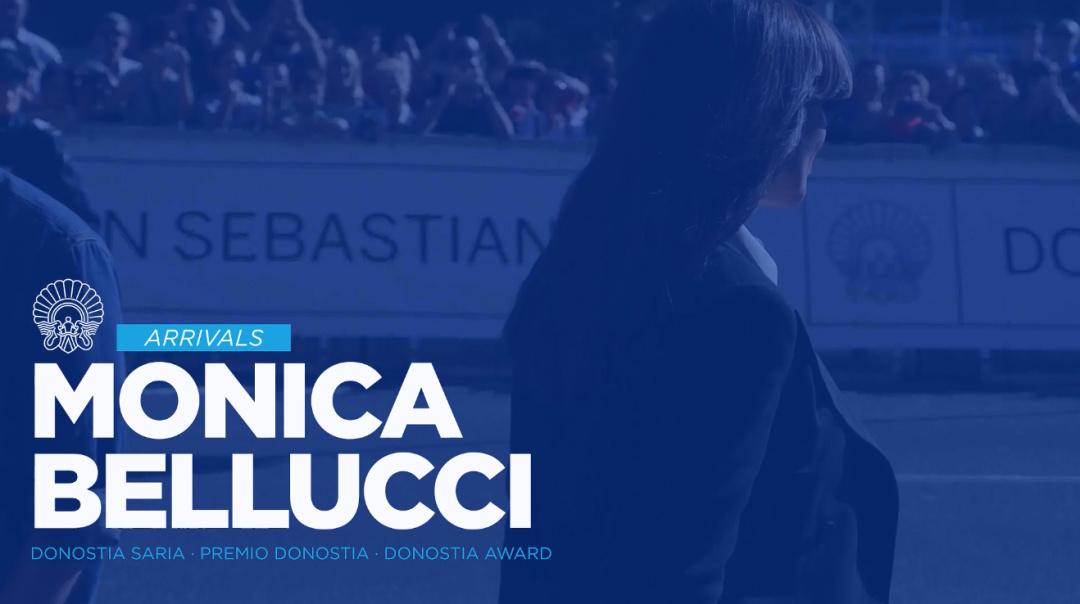 Llegada Monica Bellucci ''Premio Donostia''