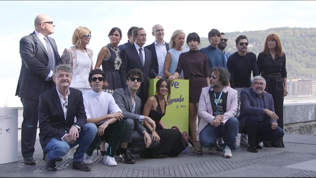 Photocall ''La Llamada'' (RTVE)