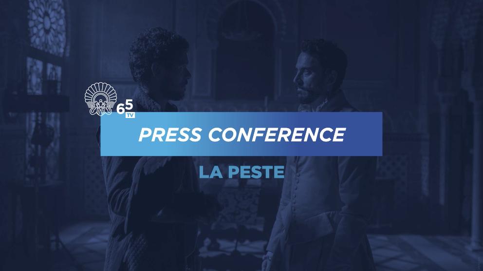 Rueda de prensa ''La Peste'' (S.O.)