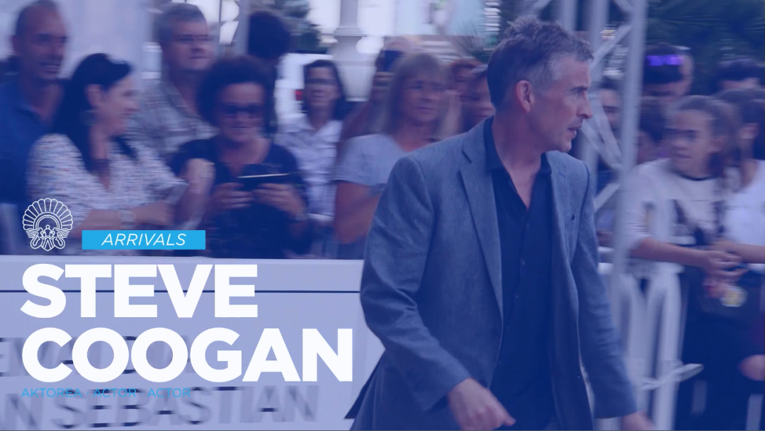 Llegada de Steve Coogan ''The Trip to Spain'' (C.C.)
