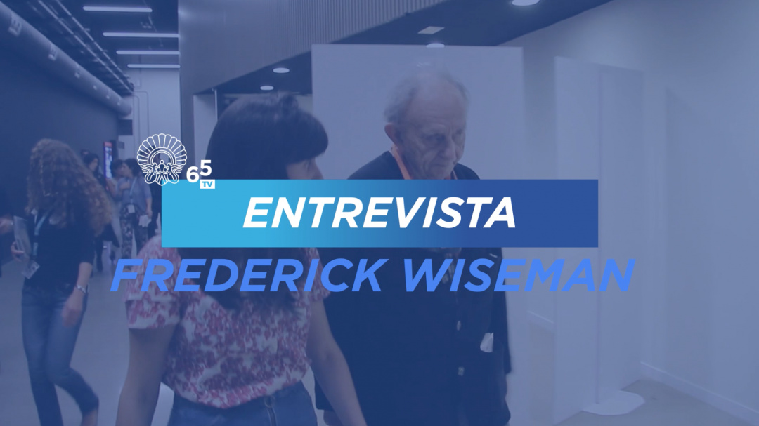 Interview with Frederick Wiseman ''Ex Libris - The New York Public Library'' (Z-TBK)