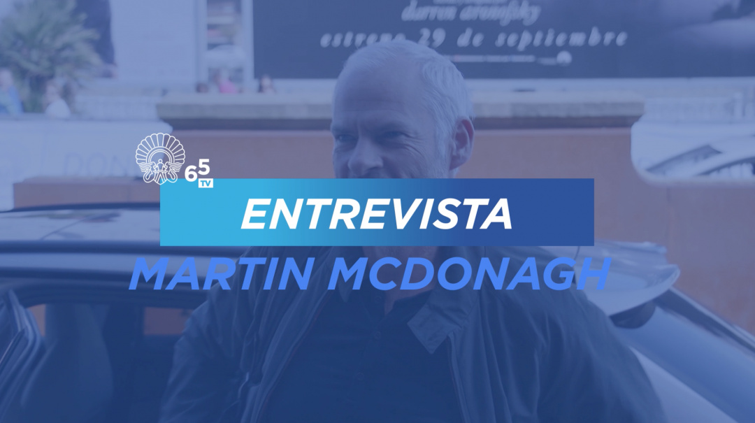 Interview with Martin McDonagh 'Three Billboards Outside Ebbing, Missouri' (P.)