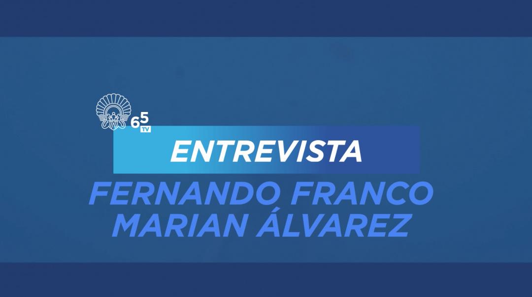 Elkarrizketa Fernando Franco-rekin eta Marian Álvarez-ekin ''Morir'' (S.O.)