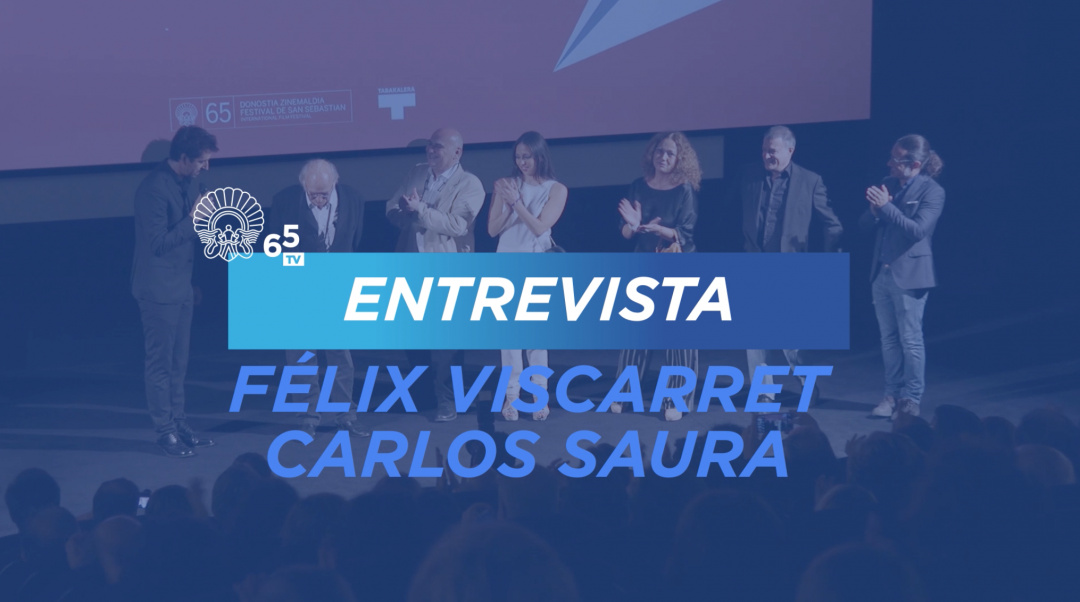 Elkarrizketa Félix Viscarret-ekin eta Carlos Saura-rekin ''Saura(s)'' (Z-TBK)