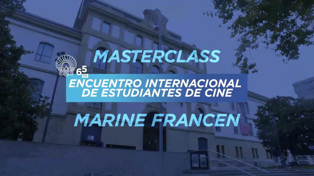 Masterclass EIECINE - Marien Francen