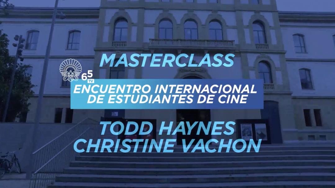 Masterclass EIECINE - Todd Haynes, Christine Vachon