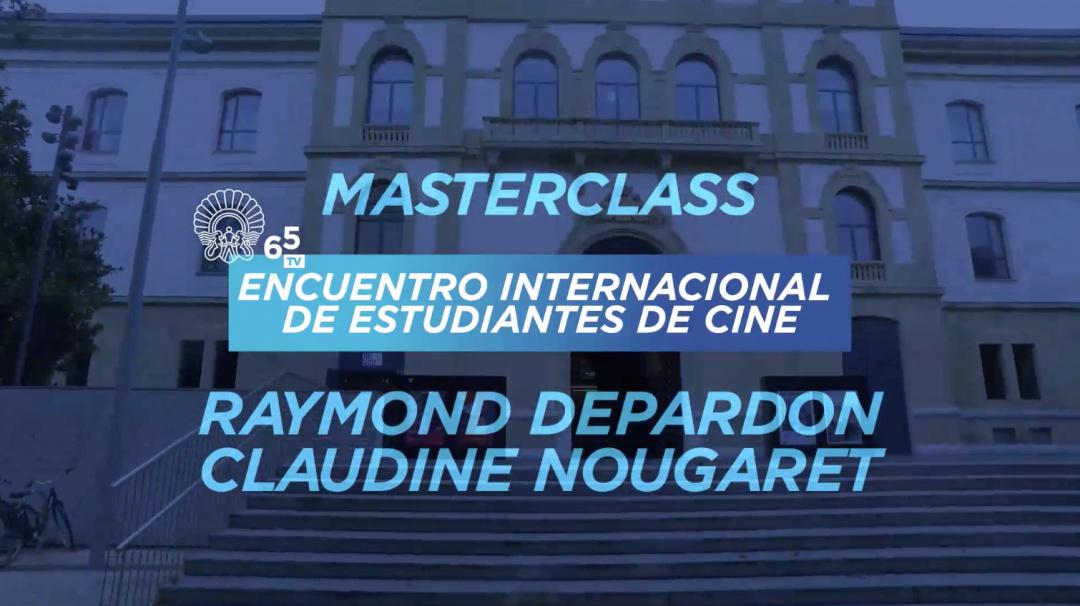 Masterclass EIECINE - Raymond Depardon, Claudine Nougaret