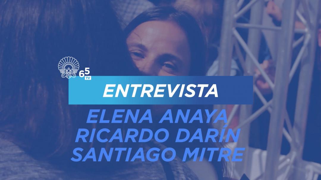 Entrevista con Elena Anaya, Ricardo Darín, Santiago Mitre ''La Cordillera'' (S.O.)