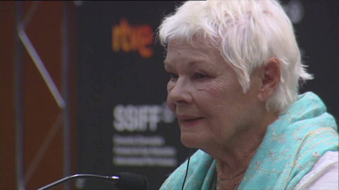 Press Conference Donostia Award Judi Dench ''RED JOAN'' (S.S)