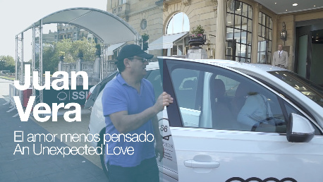 Arrival of ''JUAN VERA'' ''EL AMOR MENOS PENSADO'' (O.S)