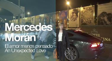 Llegada de ''MERCEDES MORÁN'' ''EL AMOR MENOS PENSADO'' (S.O)