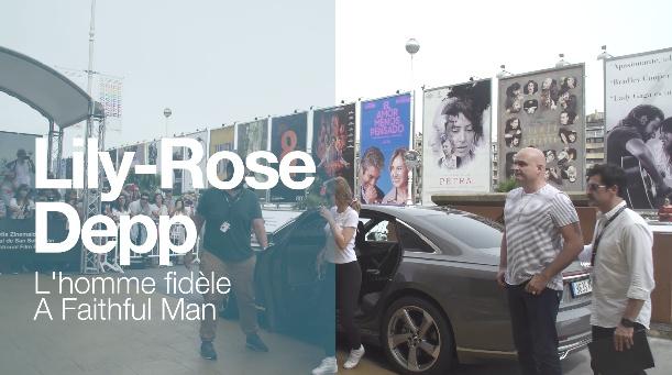 ''LILY-ROSE DEPP''-en iristea ''L'HOMME FIDÈLE / A FAITHFUL MAN'' (S.O)