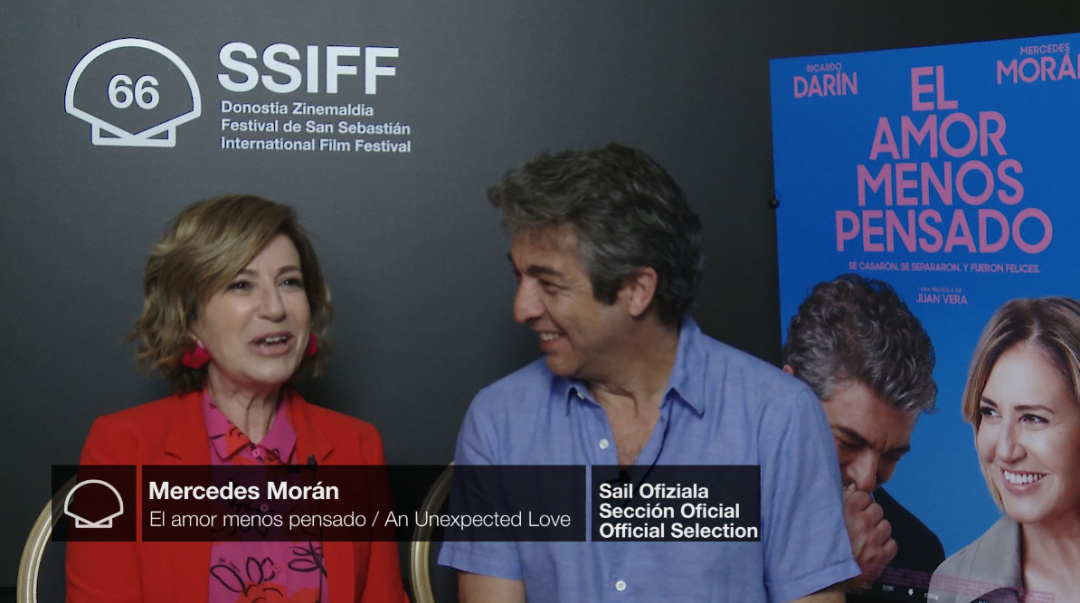 Interview to ''RICARDO DARÍN AND MERCEDES MORÁN