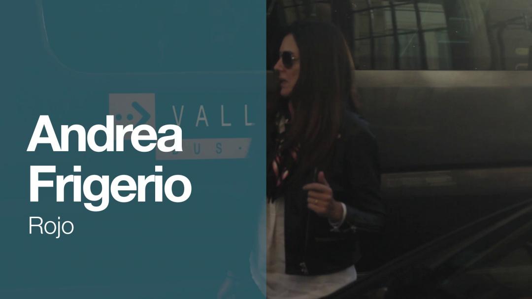 Arrival of ''ANDREA FRIGERIO'' ''ROJO'' (S.O)