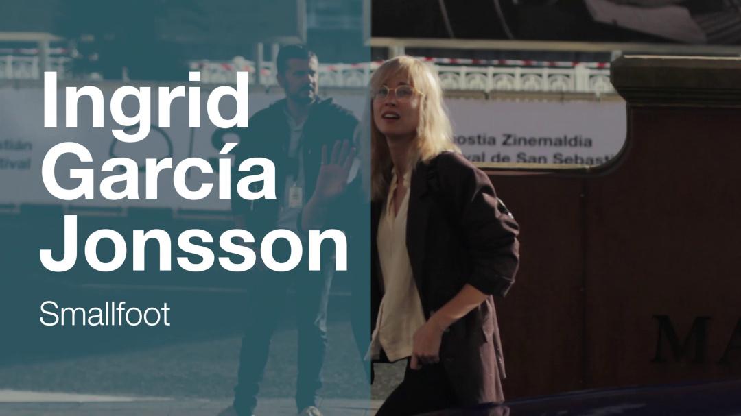 Arrival of ''INGRID GARCÍA JONSSON'' ''SMALLFOOT'' (Velodrome)