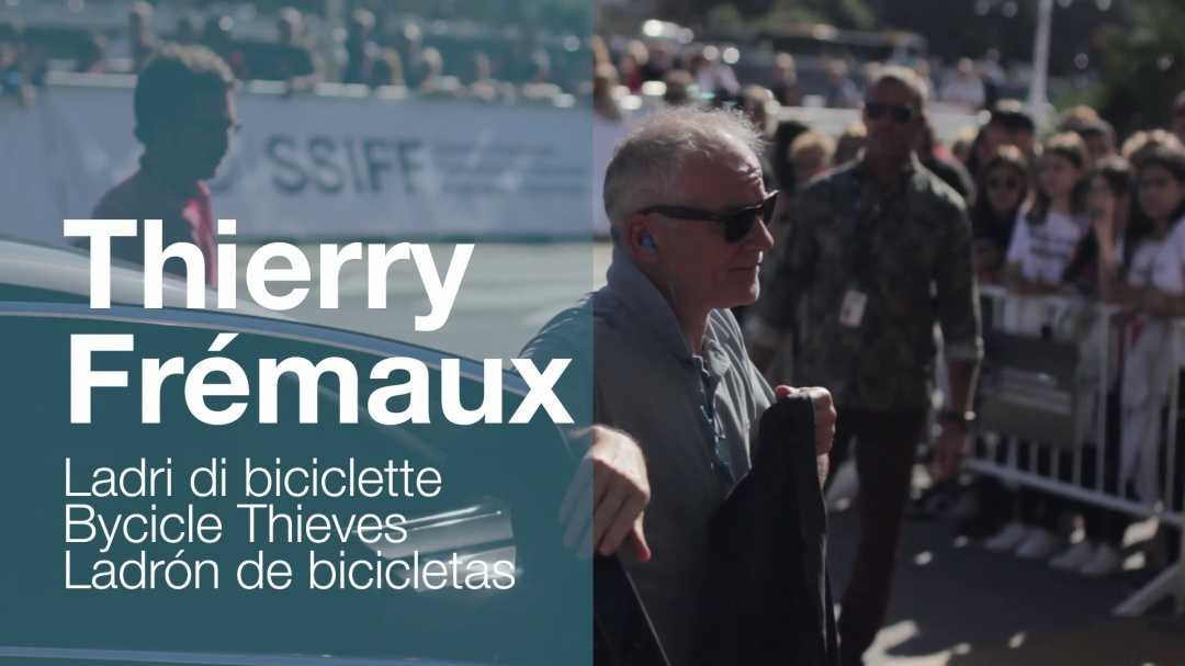Arrival of ''THIERRY FREMAUX'' ''LADRI DI BICICLETTE / BYCICLE THIEVES'' (Klasikoa)