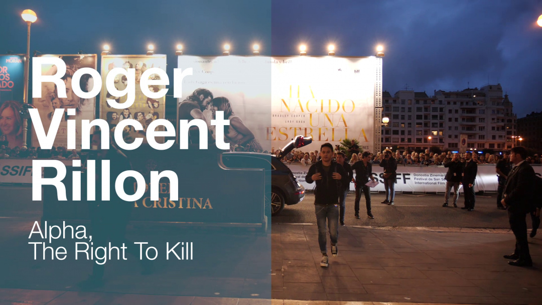 Llegada de ''ROGER VINCENT RILLON'' ''ALPHA THE RIGHT TO KILL'' (S.O)