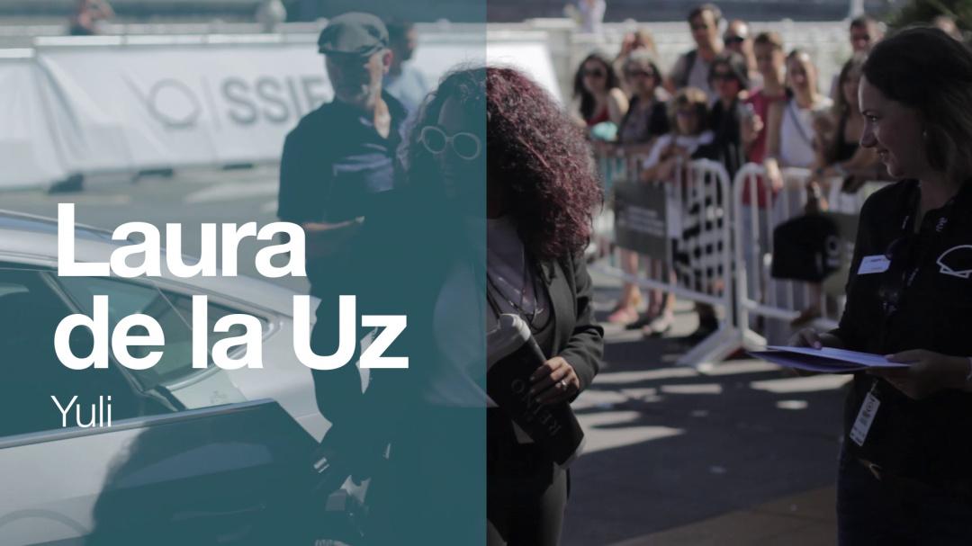 Llegada de ''LAURA DELA UZ'' ''YULI (S.O)