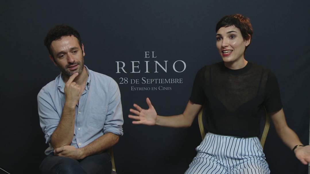 ''ANTONIO DE LA TORRE, ISABEL PEÑA, RODRIGO SOROGOYEN Y BÁRBARA LENNIE''-ri elkarrizketa ''EL REINO'' (S.O)