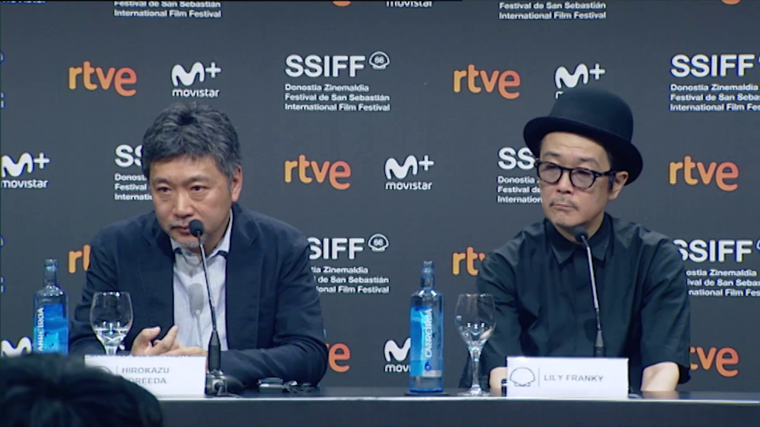 Press Conference Donostia Award ''HIROKAZU KOREEDA'' ''MANBIKI KAZOKU / SHOPLIFTERS'' (S.S)