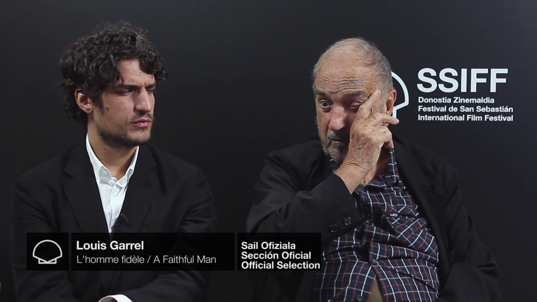 Interview to ''LOUIS GARREL Y JEAN-CLAUDE CARRIÈRE'' ''L'HOMME FIDÈLE/A FAITHFUL MAN'' (O.S)