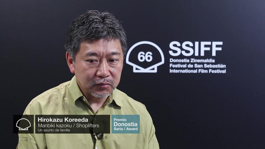 Entrevista a ''HIROKAZU KOREEDA'' ''SHOPLIFTERS (Proyecciones Especiales Premio Donostia)