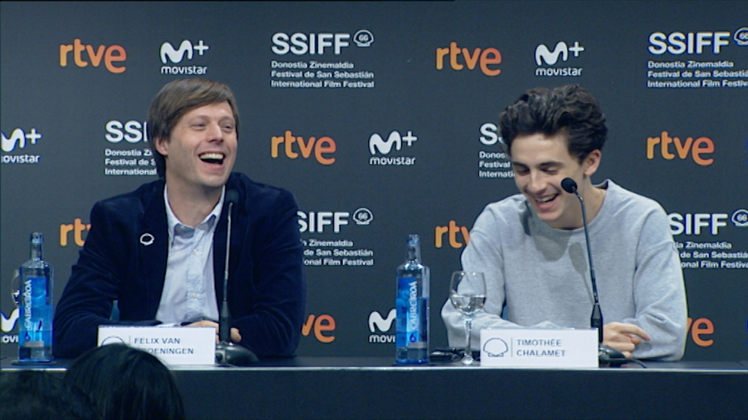 Press Conference ''BEAUTIFUL BOY'' (O.S)